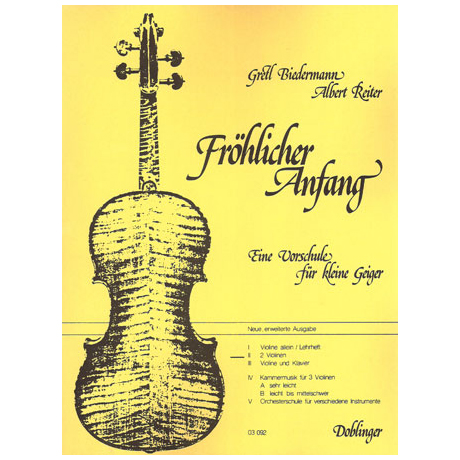 Fröhlicher Anfang – Band 2