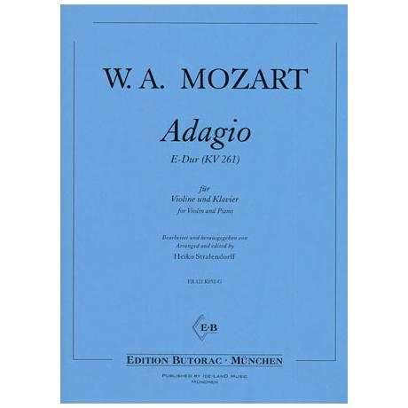 Mozart, W.A.: Adagio E-Dur (KV261)