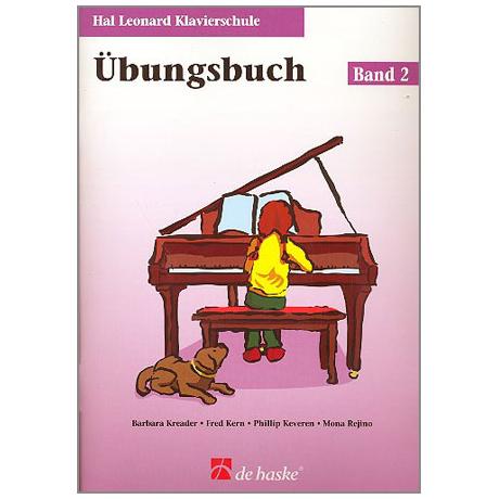 Kreader, B: Hal Leonard Klavierschule Band 2 (+CD)