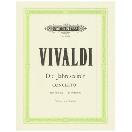 Vivaldi, A.: Violinkonzert Op. 8/1 RV 269 E-Dur »Der Frühling«