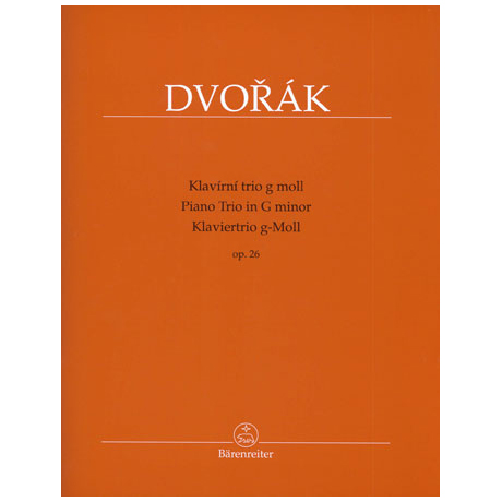 Dvořák, A.: Trio Op.26 g-Moll