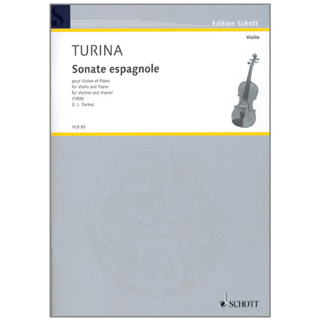 Turina, J.: Sonate espagnole