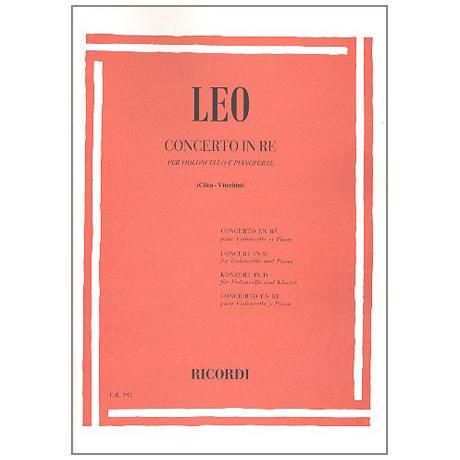 Leo, L.: Violoncellokonzert Nr. 2 D-Dur