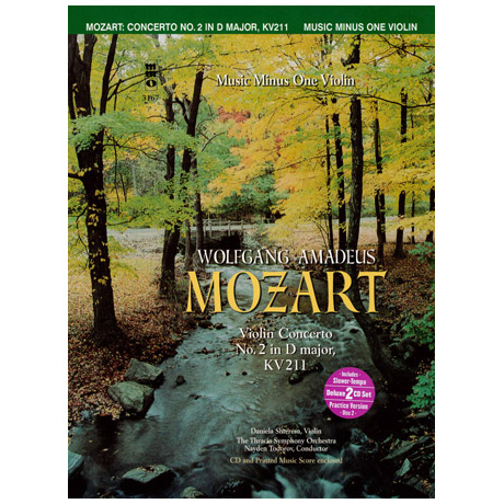 Mozart, W.A.: Violin Concerto No.2 in D major KV211 (+2CDs)