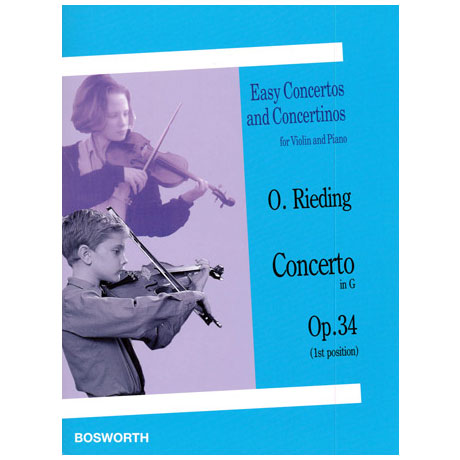 Rieding, O.: Concerto in G-Dur op.34