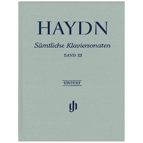Haydn, J.: Sämtliche Klaviersonaten Band III