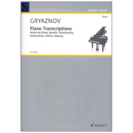 Gryaznov, V.: Piano Transcriptions