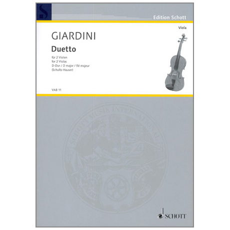 Giardini, F.d.: Duetto D-Dur