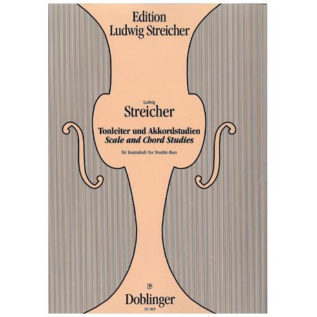Streicher, Ludwig: Tonleitern und Akkordstudien Streicher Edition