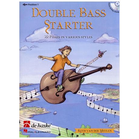 Meulen, R.v.d.: Double Bass Starter (+CD)