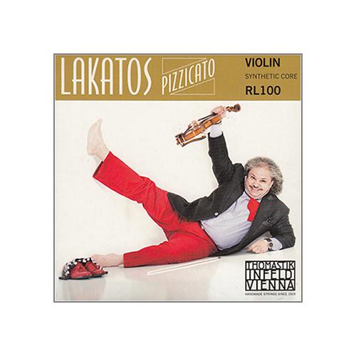 THOMASTIK Lakatos Pizzicato Violinsaite D