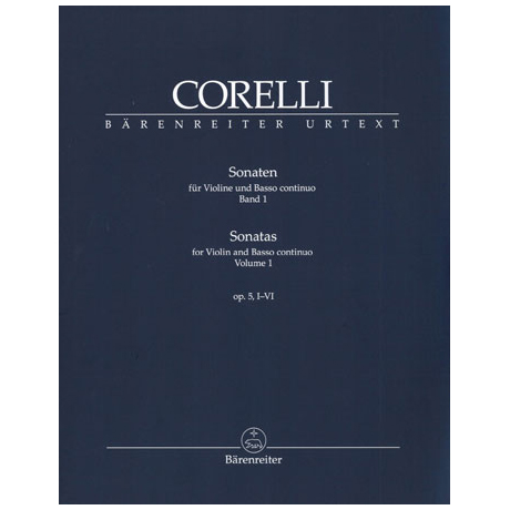 Corelli, A.: Sonaten Op.5 Band 1 Nr.1-6