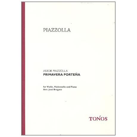 Piazzolla, A.: Primavera Porteño – Las Cuatro Estaciones Porteñas