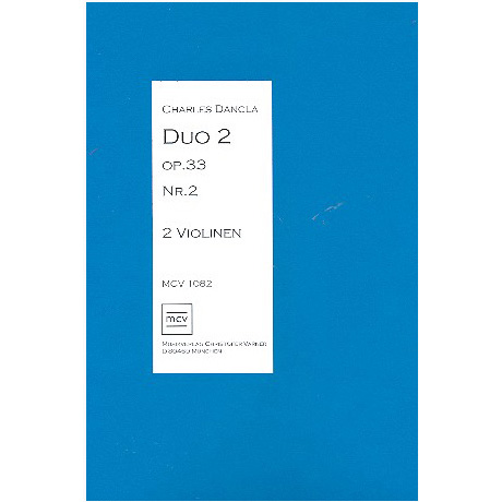 Dancla, C.: Duo Op. 33 Nr. 2