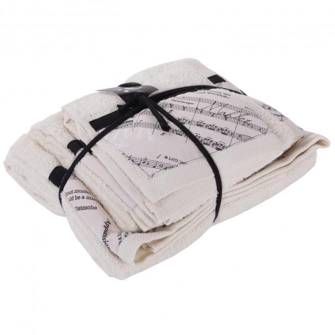 Handtuch-Set Musicale