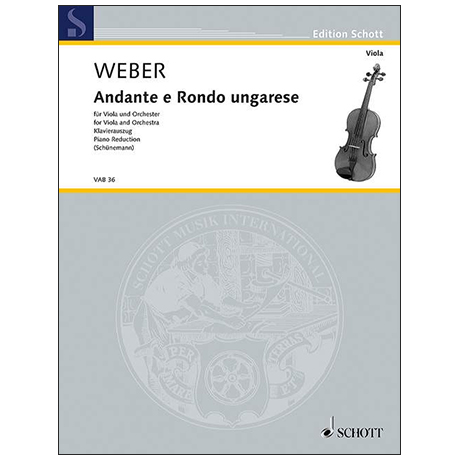 Weber, C.M.v.: Andante und Rondo ungarese
