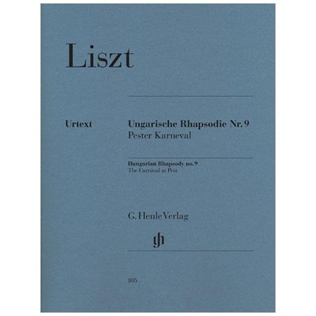 Liszt, F.: Ungarische Rhapsodie Nr. 9 – Pesther Karneval