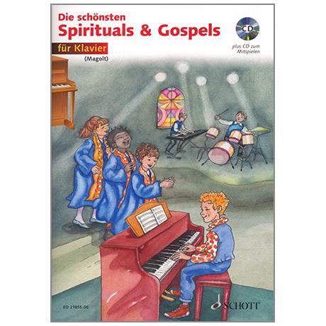 Magolt: Die schönsten Spirituals & Gospels (+CD)