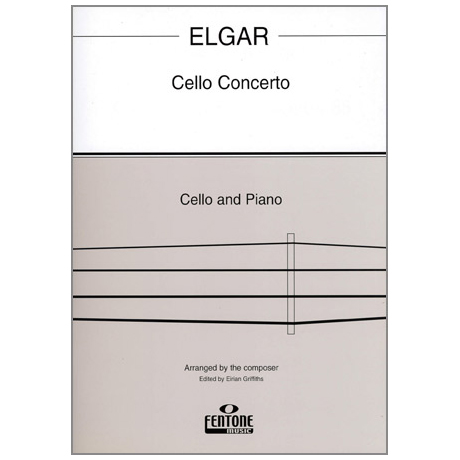 Elgar, E.: Cello Concerto op. 85