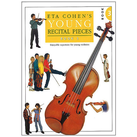 Eta Cohen: Young Recital Pieces Band 3