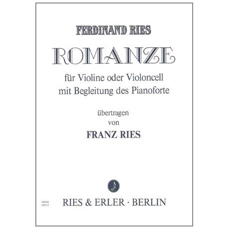 Ries, F.: Romanze