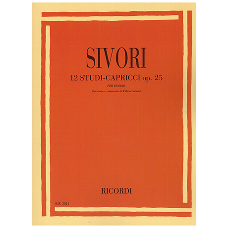 Sivori, C.: 12 Studi-Capricci Op.25