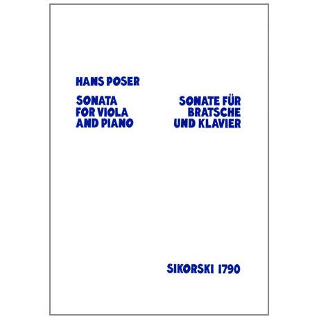 Poser, H.: Sonate Op.6