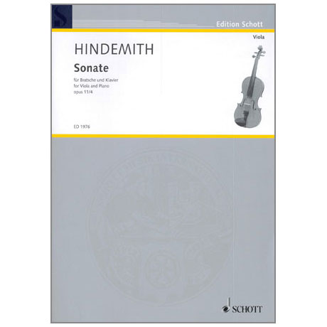 Hindemith, P.: Sonate in F-Dur Op.11/4
