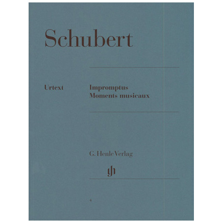 Schubert, F.: Impromptus und Moments musicaux