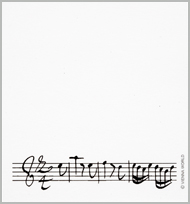 Haftnotizblock Concerto