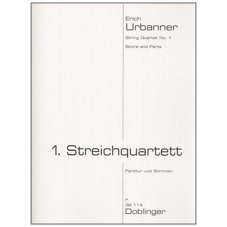 Urbanner, E.: 1. Streichquartett (1957/2013)