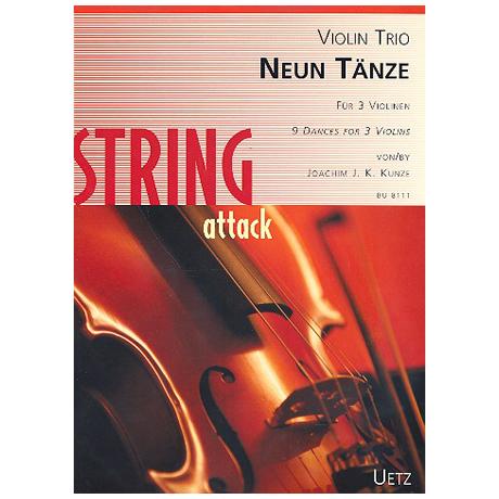 Kunze, J.: Neun Tänze