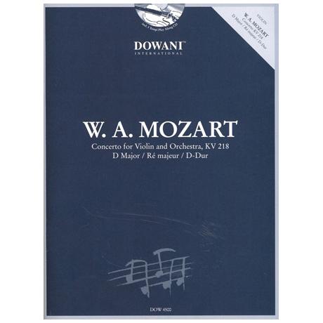 Mozart, W. A.: Violinkonzert Nr. 4 KV 218 D-Dur (+ 2 CDs)