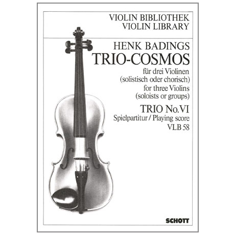 Badings, H.H.: Trio-Cosmos Nr.6
