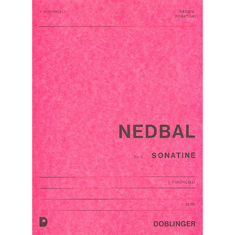 Nedbal, M.: Sonatine Op.5