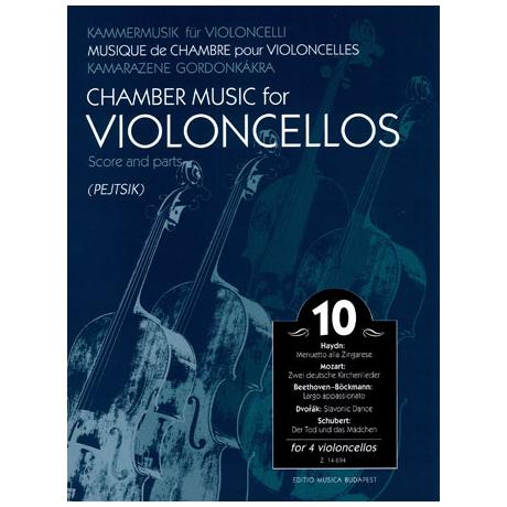 Kammermusik für Violoncelli Band 10