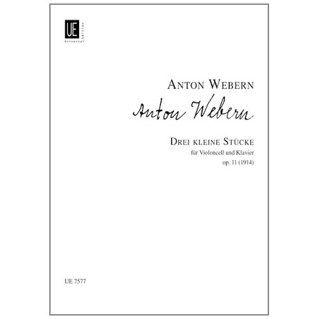 Webern, A.: 3 kleine Stücke Op. 11