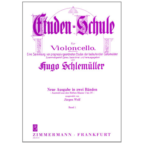 Schlemüller, G.: Etüden Schule Band 1