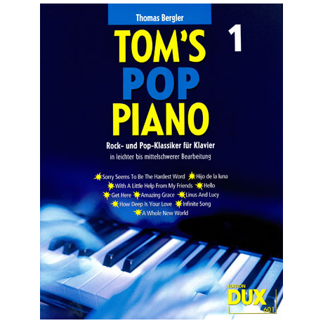 Bergler: Tom's Pop Piano 1