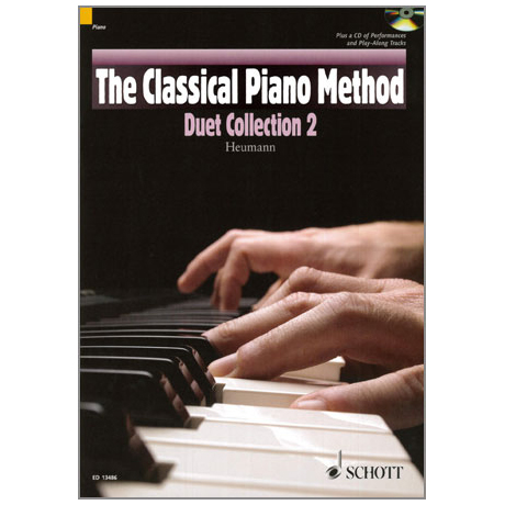 Heumann, H.-G.: The Classical Piano Method - Duet Collection Band 2 (+CD)