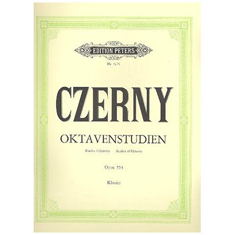 Czerny, C.: 6 Oktavstudien in fortschreitender Schwierigkeit Op. 553
