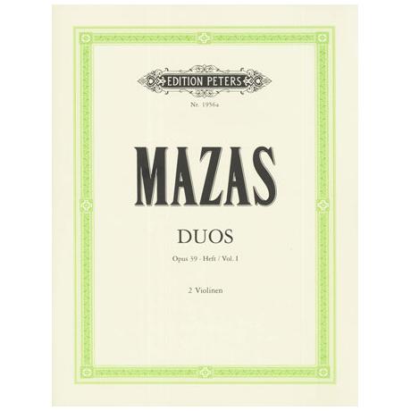 Mazas, J.F.: Duos Op.39 Band 1 (Nr.1-3)