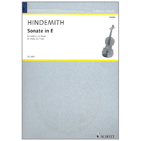Hindemith, P.: Sonate in E-Dur
