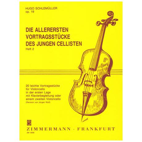 Schlemüller, H.: Die allerersten Vortragsstücke Op. 19 Heft 2