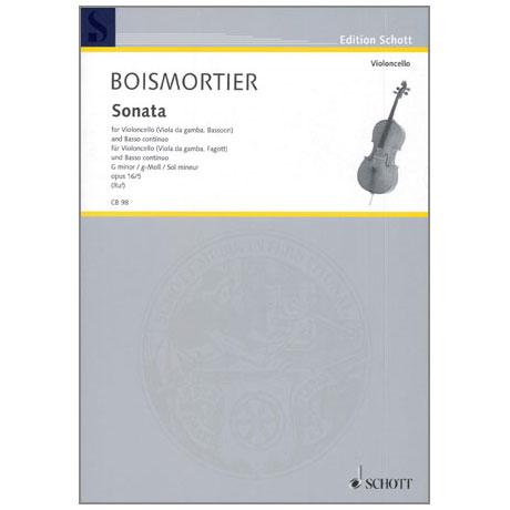 Boismortier, J. B. de: Sonate Op.26 Nr.5 g-Moll