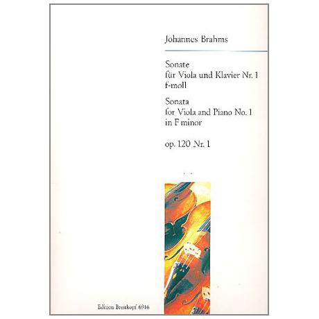 Brahms, J.: Sonate Nr.1 f-Moll Op.120/1