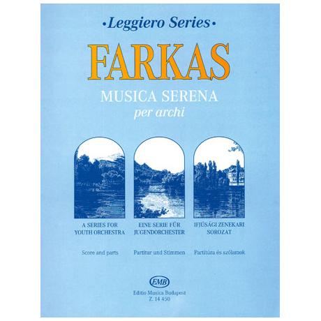 Leggiero - Farkas: Musica serena per archi