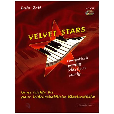 Zett, L.: Velvet Stars (+CD)