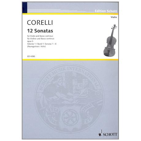 Corelli, A.: 12 Sonaten Op.5 Band 1 (Nr. 1-6)
