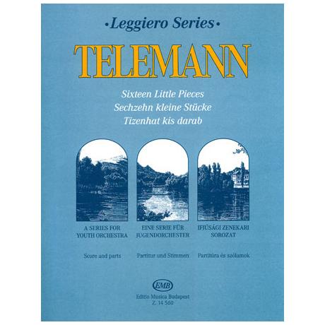 Leggiero - Telemann: Sechzehn kleine Stücke